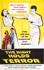 The Night Holds Terror 1955 DVD - Jack Kelly / Hildy Parks
